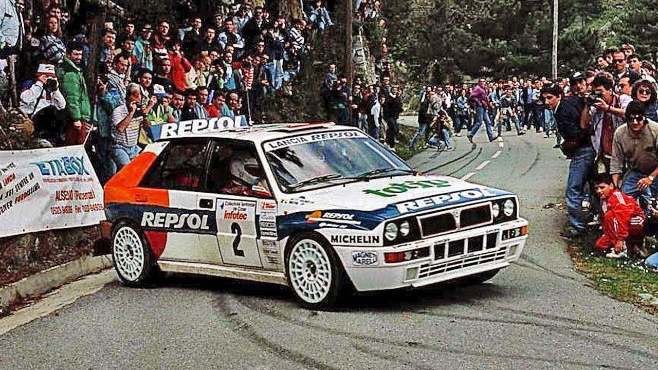 Carlos sainz lancia delta hf integrale 93 with pure engine carlos sainz lancia delta hf integrale 93 with pure engine sounds wrc tour de corse 1993 youtube vanachro Gallery