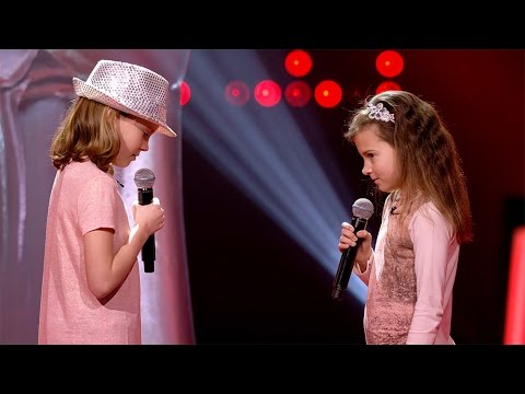 Natasha & Charlise - 'Je Veux' | Blind Auditions | The Voice Kids | VTM