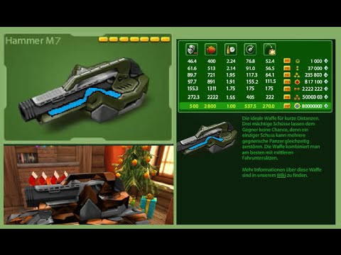 Tanki Online Hammer M7 [8000 Subscriber Special]