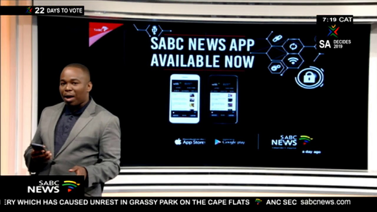 The SABC launches a News App