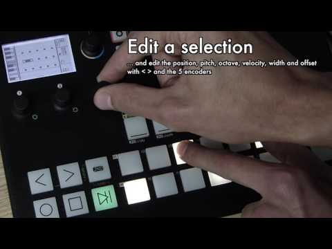 PyraOS V1.0 new features: Chord learn, Quick step edit, Quick automation edit (advanced users)