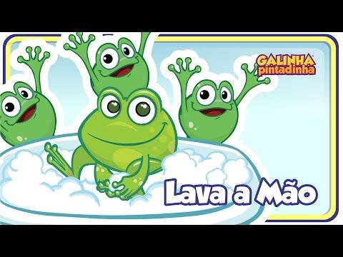 Lava a mão - DVD Galinha Pintadinha 3