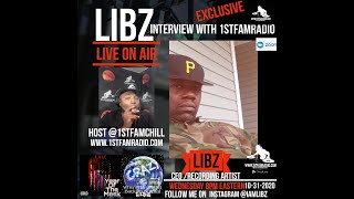 LIBZ INTERVIEW WITH 1ST FAM RADIO