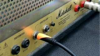 GUITAR TUTORIAL - How To Record Guitars with a Tube Amp and Impulses