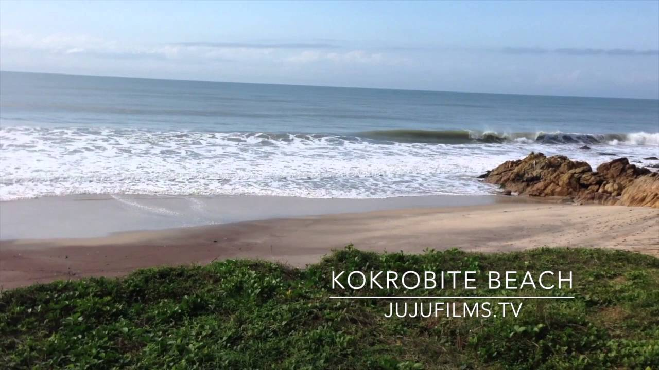 kokrobite beach youtube