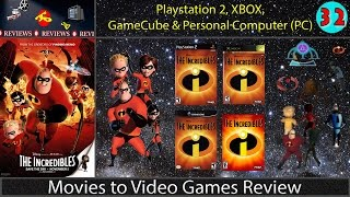 Movies to Video Games Review -- The Incredibles (PS2, GC, XB & PC)
