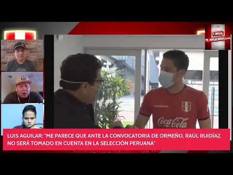 ¡TARDE BLANQUIRROJA: PRIMER ENTRENAMIENTO DE SANTIAGO ORMEÑO CON LA SELECCIÓN PERUANA!