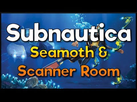 Subnautica - How to find Seamoth, Scanner Room, Propulsion Cannon, Light Stick and Battery Charger