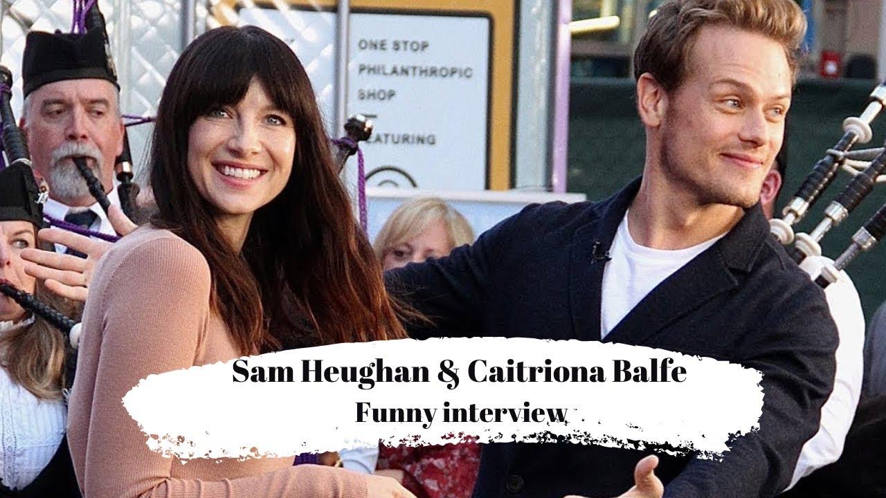 Sam Heughan & Caitriona Balfe || Together (Funny Recap)