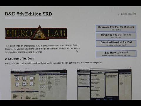 Hero Lab D&D 5e Announced