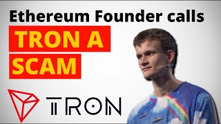 Ethereum Founder Calls TRON A Scam on Twitter ,gets HIT BACK l TheCoinRepublic