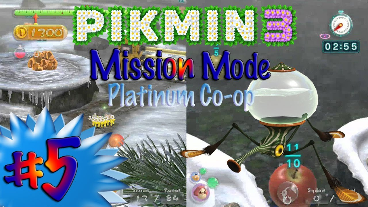 how to play pikmin 3 co op