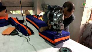 Leggings making and cutting machine