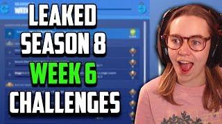 *LEAKED* Week 6 Season 8 Challenges - Fortnite