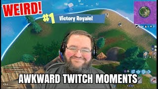 OMG... Funny Stream Fails and Awkward Moments! fortnite fails and funny moments!