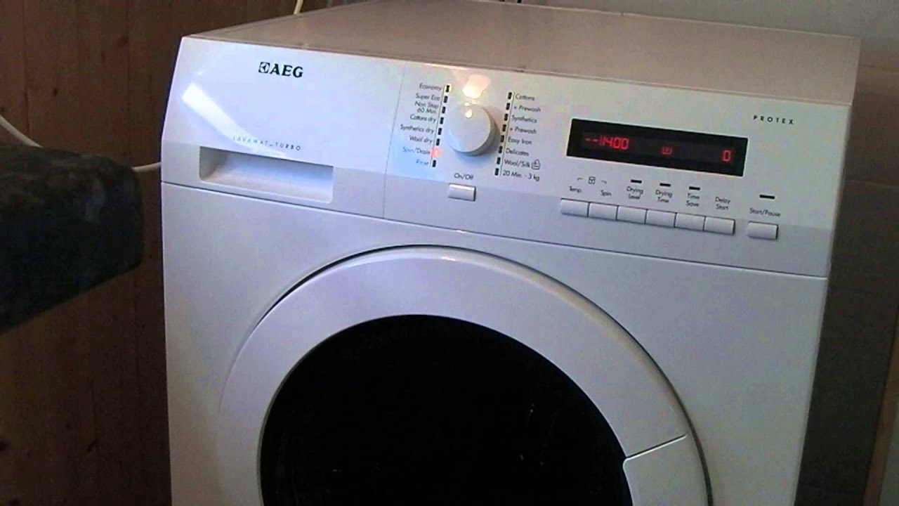 aeg lavamat protex l75480 washer dryer faults youtube. Black Bedroom Furniture Sets. Home Design Ideas