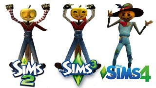 ♦ Sims 2 vs Sims 3 vs Sims 4 : Seasons - Fall