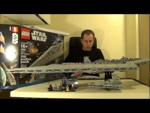 Lego Star Wars UCS Super Star Destroyer 10221 Toy Review Video