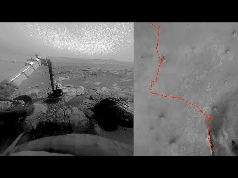 Opportunity Rover On Mars (2004 - 2019) Mp3