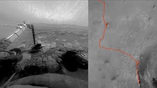 Opportunity Rover On Mars (2004 - 2019)