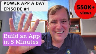 PowerApps Tutorial for Beginners -  Build an App in 5 Minutes