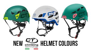 Climbing Technology - Orion, Galaxy and Eclipse Helmets