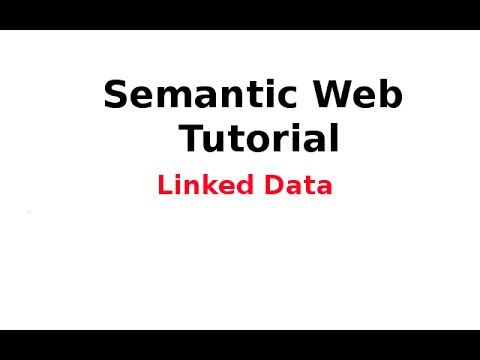 Semantic Web Tutorial 14/14: Linked Data