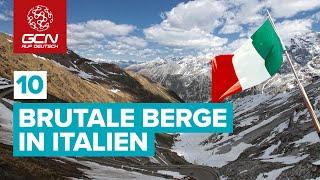 Anlässlich des giro d'italia, der um diese zeit stattgefunden hätte, zeigen wir euch heute zehn brutalsten und faszinierendsten bergfahrten italiens. dar...