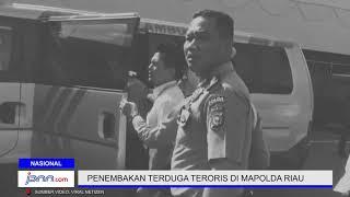 Detik - Detik Penembakan Terduga Teroris di Mapolda Riau - JPNN.COM