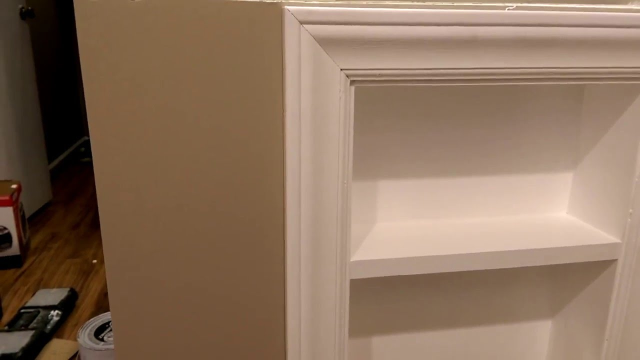 Built In Bathroom Shelves How To Make A Bathroom Niche