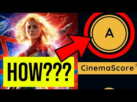 CAPTAIN MARVEL - FAKE REVIEWS + FAKE BOX OFFICE = ANOTHER DISNEY SUCCESS!
