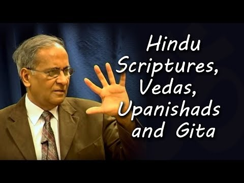 Hindu Scriptures, Vedas, Upanishads and Gita | Talk by Jay Lakhani - Hindu Academy London