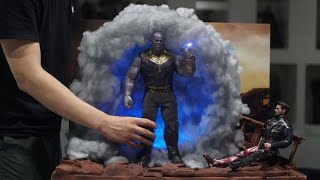 [Hot Toys Avengers Infinity War Thanos Portal Diorama] 핫토이 어벤져스 인피니티워 타노스 포털 디오라마