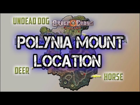 Order And Chaos Online - Polynia Mounts Locations - Gotta Catch Em All