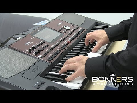 Korg PA700 Keyboard Overview & Sound Demo - New 2017!!!