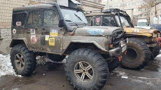Ремонт ЗЕЛЕНОЙ МЕЧТЫ и УАЗа на БТРовских, очень легкий V6
