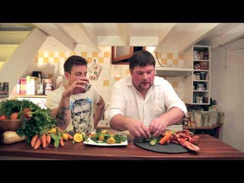 homard-grillé-et-petits-légumes