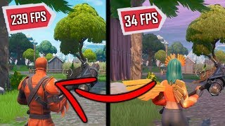 Neu TOP 5 Fortnite Battle Royale FPS BOOST SKINS 🌟 8 ª temporada-PC, laptop und MAC