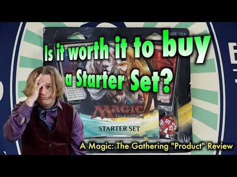 MTG - Is it worth it to buy a Starter Set for Magic: The Gathering? No.