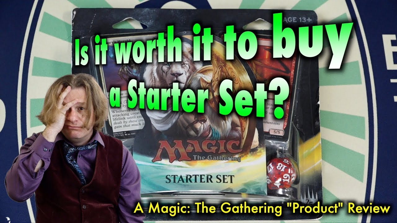 magic the gathering starter pack free