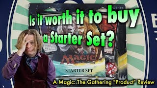 mtg is it worth it to buy a starter set for magic the gathering? no