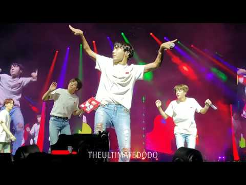 180916 Anpanman @ BTS 방탄소년단 Love Yourself Tour In Fort Worth Fancam 직캠