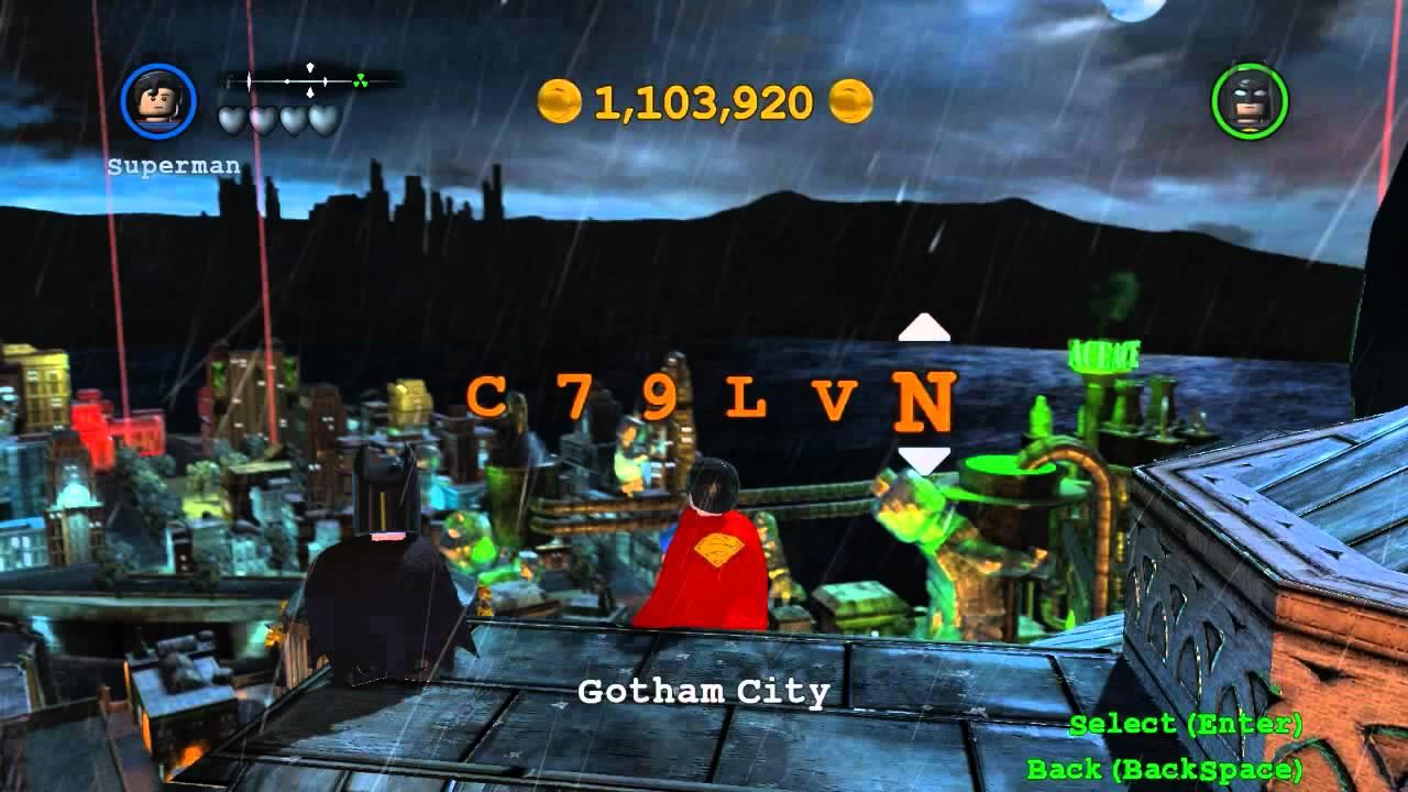 Lego Batman 2 Cheats Youtube