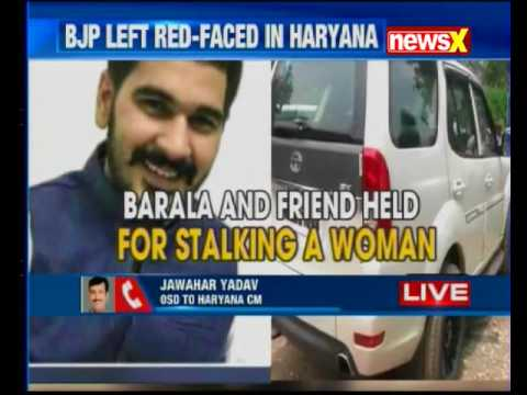 Chandigarh: Haryana BJP state president Subhash Barala's son Vikas  arrested for  stalking a girl