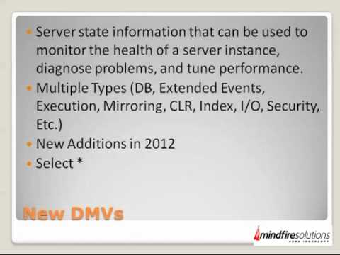 New Features Of SQL Server 2012 (Part 1 Of 5)