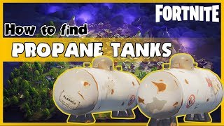 FORTNITE guide - How to find propane tanks in Fortnite (Daily destroy quest in 2018)