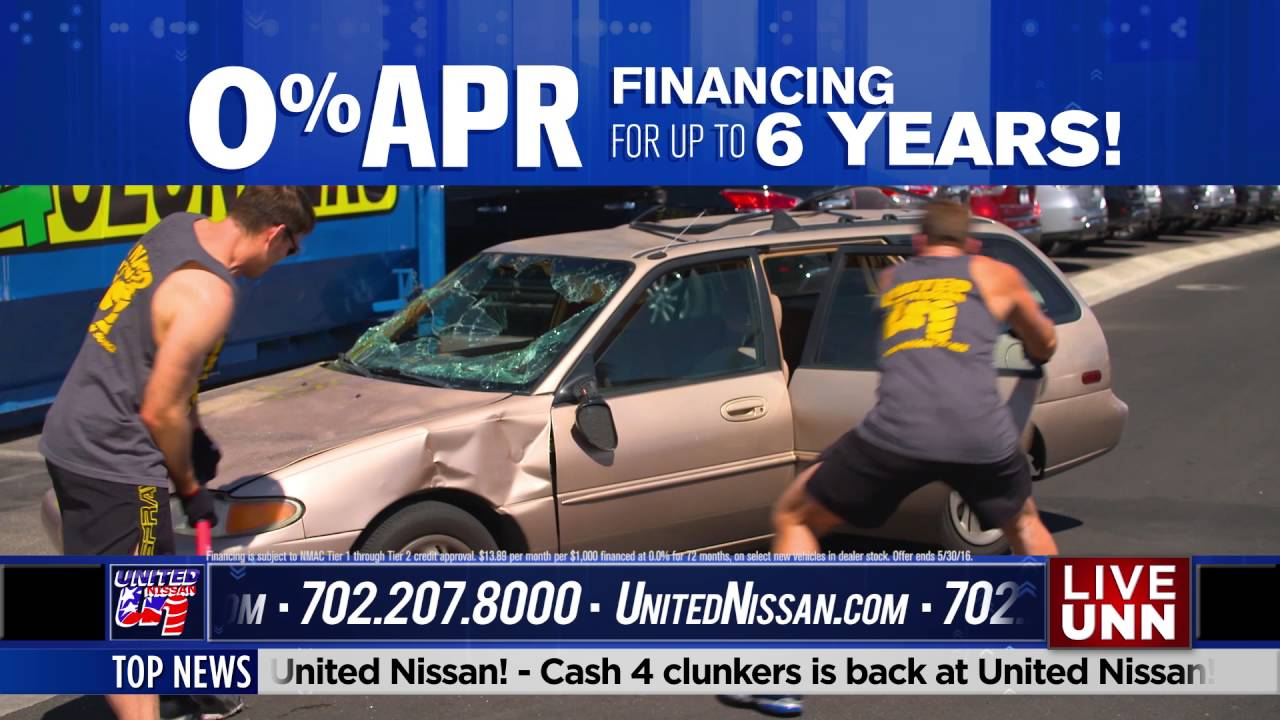 United Nissan | Cash for Clunkers New Caster 1 - YouTube