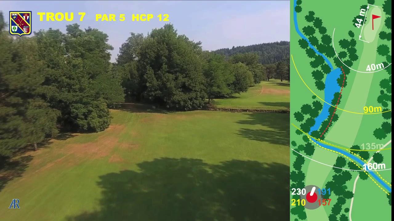 Vidéo du trou numéro 7 | Golf La Barouge Mazamet
