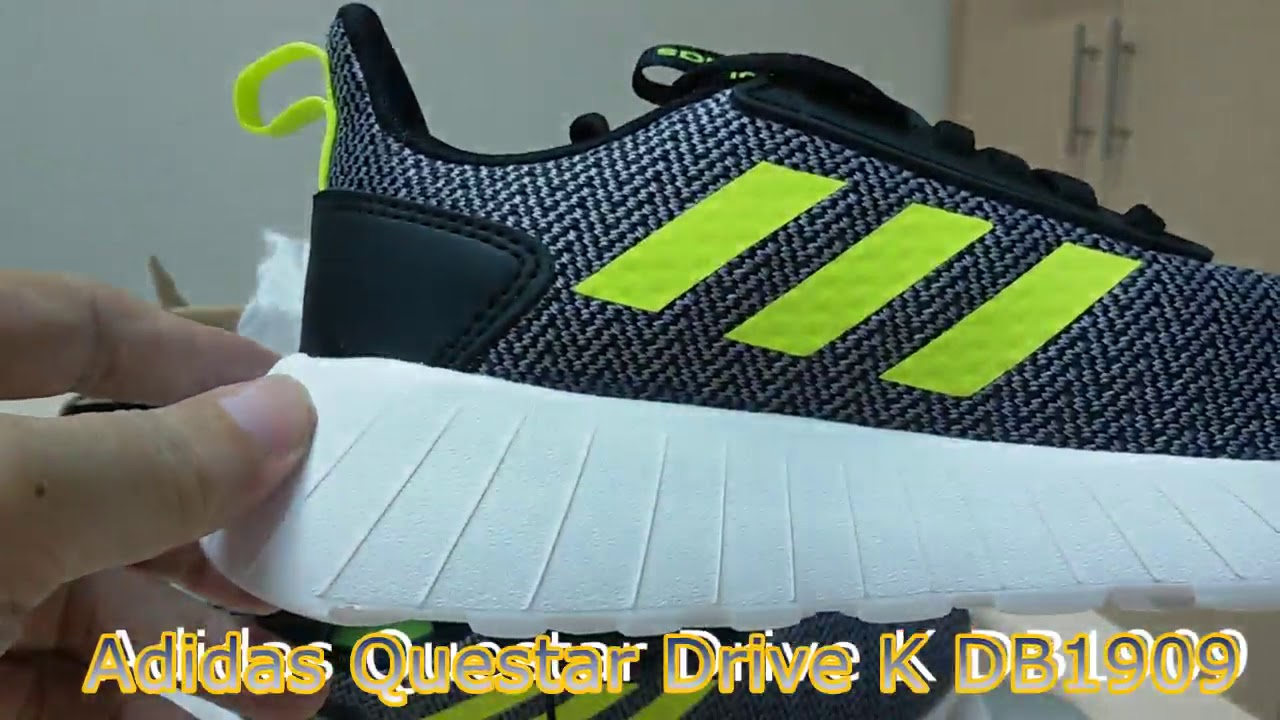 astronauta fuerte Cortar  Unboxing Sneakers Adidas Questar Drive K DB1909 - YouTube