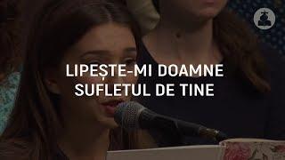 Amalia Preda - Lipeste-mi, Doamne, sufletul de Tine